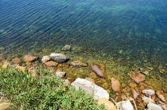 La costa selvaggia di Austalia del sud Immagini Stock