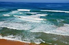 La costa selvaggia di Austalia del sud Fotografia Stock Libera da Diritti