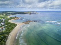 La costa sur vara Australia Imagen de archivo libre de regalías