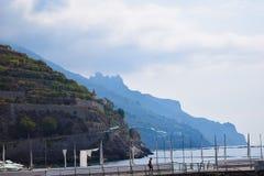 La Costiera Amalfitana Fotografía de archivo