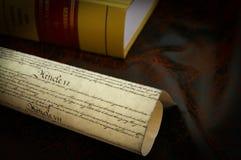 La costituzione Fotografie Stock Libere da Diritti