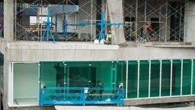 La costruzione è in costruzione Fotografie Stock Libere da Diritti