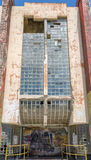 La costruzione abbandonata in Willemstad nel Curacao Fotografia Stock Libera da Diritti