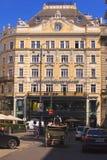 La costruzione barrocco di stile che alloggia la pensione Neuer Markt, Vien Fotografia Stock Libera da Diritti