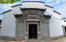 La costruzione caratteristica di Jiangnan più classica Immagini Stock Libere da Diritti