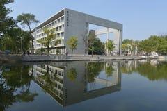 La costruzione d'istruzione dell'università di Nankai Fotografie Stock Libere da Diritti