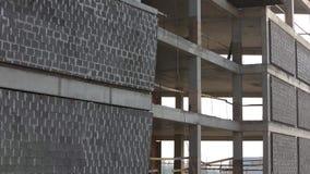 La costruzione degli edifici moderni archivi video