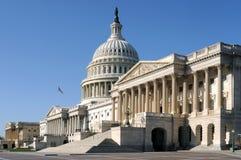 La costruzione degli Stati Uniti Campidoglio Fotografia Stock Libera da Diritti