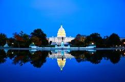 La costruzione del Campidoglio, Washington DC, U.S.A. Immagine Stock Libera da Diritti