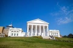 La costruzione del capitale dello Stato in Richmond Virginia fotografia stock