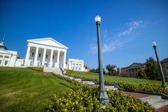 La costruzione del capitale dello Stato in Richmond Virginia immagini stock libere da diritti