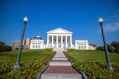 La costruzione del capitale dello Stato in Richmond Virginia immagini stock