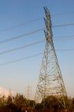 La costruzione del cavo della posta di elettricità Fotografia Stock Libera da Diritti