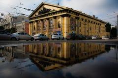 La costruzione del circo a Rostov-On-Don Fotografia Stock Libera da Diritti