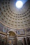 La costruzione del panteon a Roma Italia ora è una chiesa ma precedentemente era una costruzione ha dedicato tutti i dei di Roma  Fotografie Stock