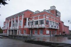 La costruzione del teatro nel kimri Fotografia Stock