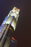 La costruzione della Banca d'oltremare unita ha limitato le sedi in Singapo fotografia stock