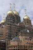 La costruzione della cattedrale dell'arcangelo Michael Fotografia Stock