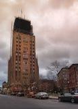 La costruzione della torre dello stato Fotografia Stock