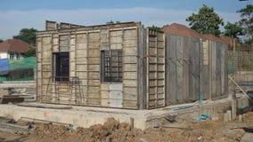 La costruzione delle case Immagine Stock