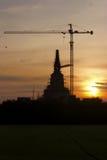 La costruzione delle pagode Immagine Stock