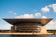La costruzione di teatro dell'opera, Copenhaghen Immagini Stock Libere da Diritti