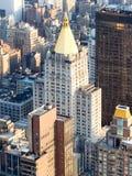 La costruzione di vita di New York a New York Immagini Stock