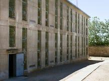 La costruzione esterna ha sparato di una prigione Immagine Stock