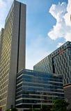 La costruzione moderna nella città di Guangzhou Immagine Stock