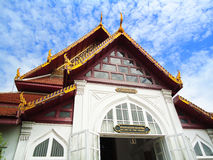 La costruzione nel composto del museo contiene la galleria tailandese della storia, Tailandia Fotografia Stock