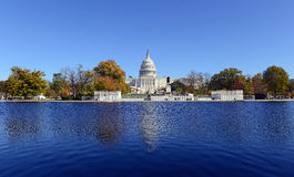 La costruzione nel Washington DC, capitale del Campidoglio degli Stati Uniti d'America Immagini Stock Libere da Diritti