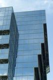 La costruzione nello stile alta tecnologia Immagine Stock