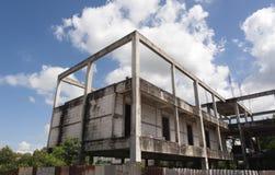 La costruzione non è completata Immagine Stock