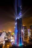 La costruzione più alta in Tailandia Fotografia Stock Libera da Diritti