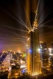 La costruzione più alta in Tailandia Immagine Stock