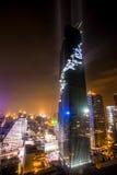 La costruzione più alta in Tailandia Immagine Stock Libera da Diritti