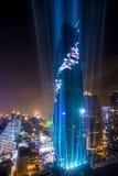 La costruzione più alta in Tailandia Fotografie Stock