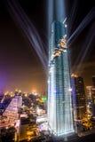 La costruzione più alta in Tailandia Fotografia Stock