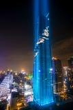 La costruzione più alta in Tailandia Immagini Stock