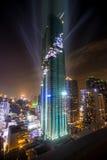 La costruzione più alta in Tailandia Fotografie Stock Libere da Diritti
