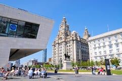 La costruzione reale del fegato, Liverpool Fotografie Stock