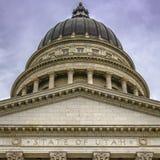 La costruzione rinomata e famosa del capitale dello Stato dell'Utah immagini stock libere da diritti