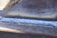 La costura de la soldadura fotos de archivo