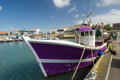 La Cotinière Oleron Francia del puerto fotografía de archivo libre de regalías