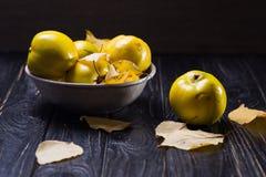 La cotogna è frutti di autunno Immagine Stock Libera da Diritti