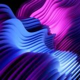 La couche abstraite de texture forme le fond images stock