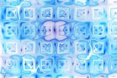 La couleur abstraite éclabousse sur le fond blanc Photographie stock libre de droits