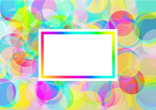 La couleur bouillonne fond Photos stock