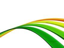 La couleur câble le fond Photographie stock libre de droits