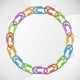 La couleur coupe le cadre Image libre de droits